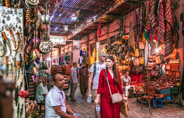 实拍摩洛哥集市,阿拉伯人笑话我没钱