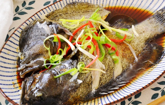 清蒸龙胆鱼鲜美肉嫩,孩子常吃个头猛长