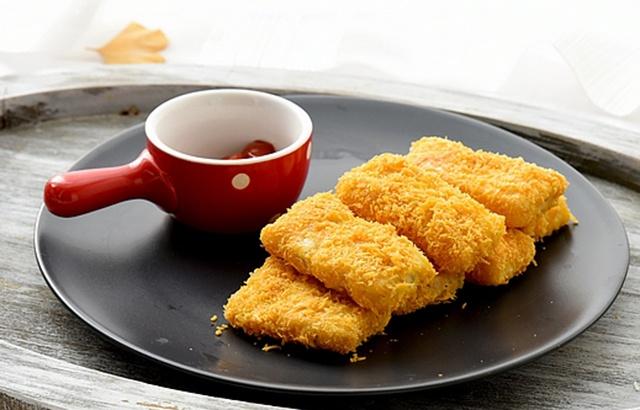 吃起来不油不腻的炸鱼排,上桌秒光