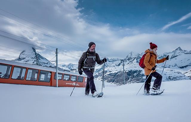 滑雪爱好者的天堂!实拍瑞士绝美隐世山城