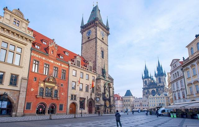 世界最古老天文钟,东欧最热门旅游景点