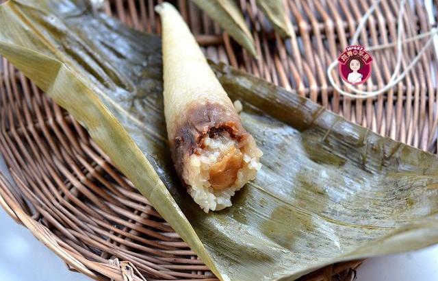 玫瑰豆沙鲜参蜜粽,自己做香甜软糯超实惠