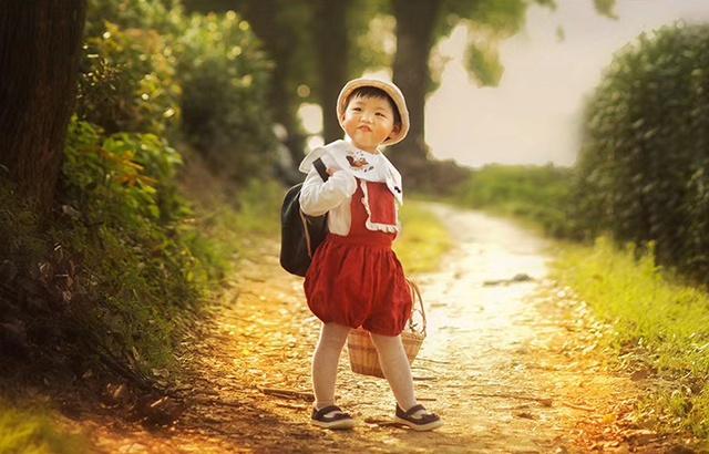 摄影记:圆脸女孩的乡下时光