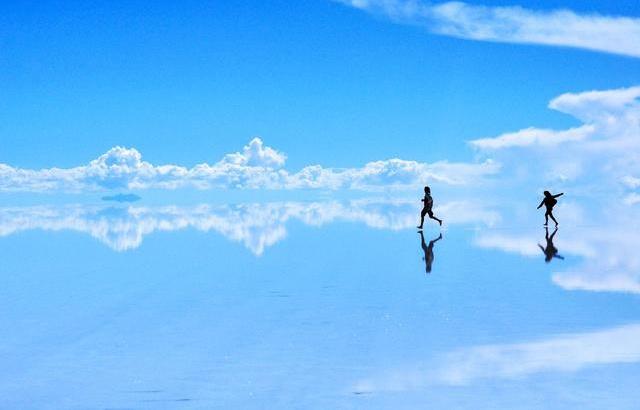 乌尤尼盐沼,这才是正版的天空之镜