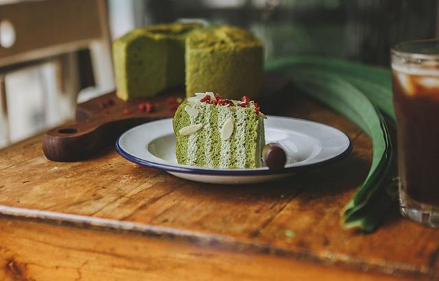 斑斕戚風蛋糕,在家也能品嘗到東南亞風味