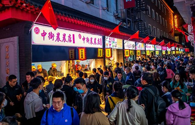 國慶假期的沈陽中街,好一派熱鬧景象!