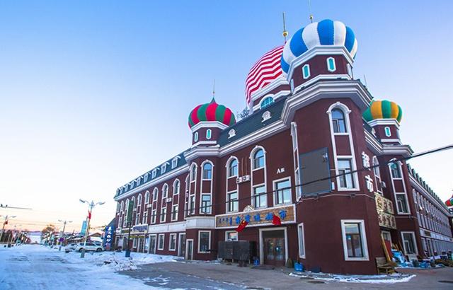 中俄边境小镇室韦,充满了异域风情