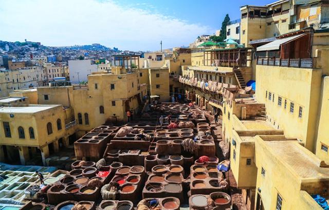 摩洛哥菲斯古城,规模之大堪称世界之最