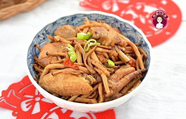 年夜饭不能少的小鸡炖蘑菇,几十年没吃腻