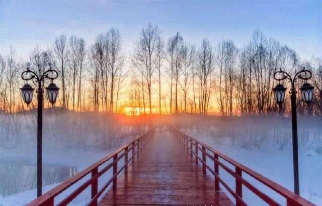 零下49.7度!极寒天气下的阿木尔有多美