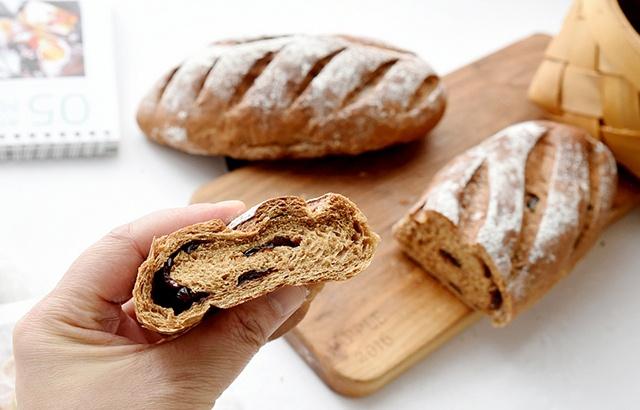 简单易做又好吃的面包,越嚼越香!