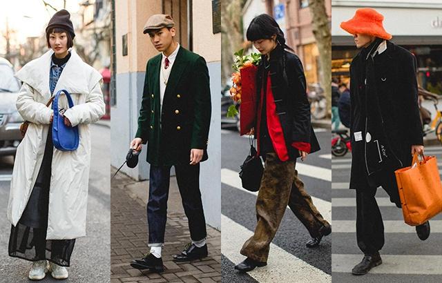 早春穿搭圖鑒:上海街頭的潮人這么穿