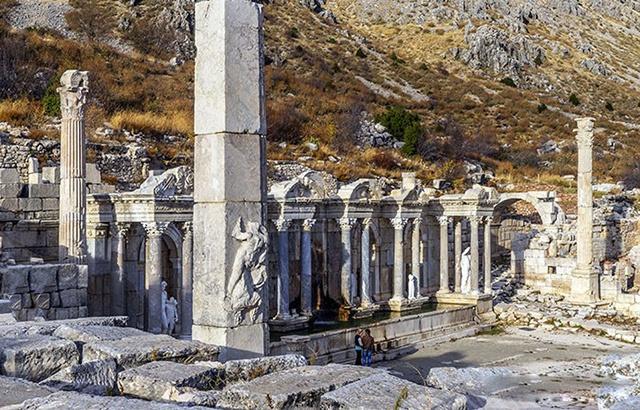土耳其宏伟壮观的萨加拉索斯遗址