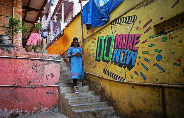 印度贫民窟,没想到也能如此惊艳