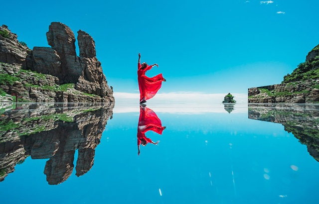 Dream! The highest and most beautiful sky mirror in Taihang Mountains
