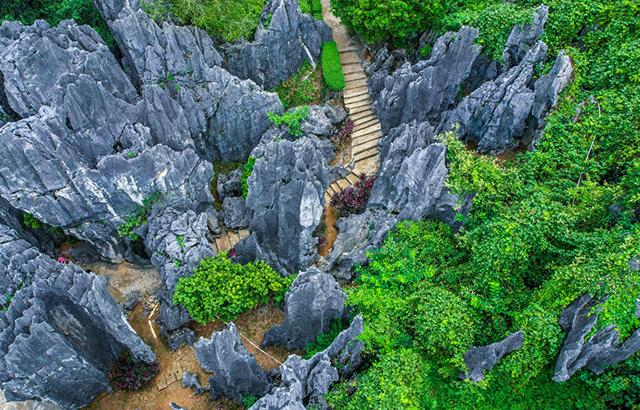 广东也有一处石林,景观不逊云南