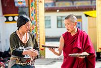 寺院里的喇嘛吃什么