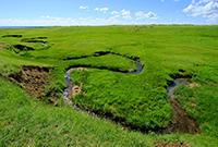 世界上最窄的河流在内蒙