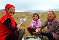 新疆牧区的奶酪情怀