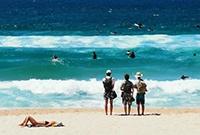 悉尼人晒日光浴的益地方