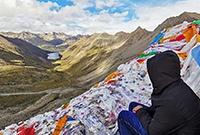 西藏著名的袖珍神湖