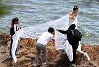 拍婚纱照是个体力活