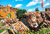 骑士团古堡遗址的传奇色彩