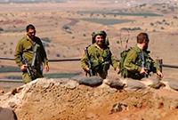 巡逻中的以色列大兵