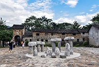 There is a Bagua village at the junction of Guangdong and Hunan