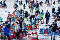 北京人冬季的快乐