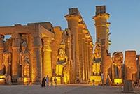 盧克索神廟迷人夜色
