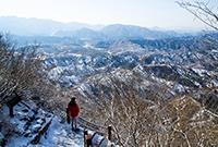 雪中的司馬臺長城