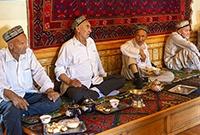 喀什百年老茶馆