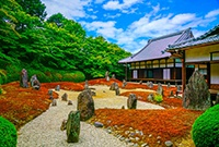 日本庭院的禅意世界