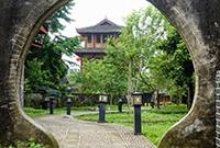中国唯一四面环水的古城