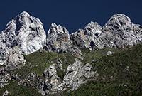 甘南迭山地質奇觀