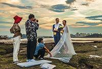 鼓浪屿:婚纱照拍摄基地