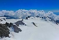 新西蘭最壯觀的冰河