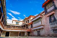 西藏曾經的貴族莊園