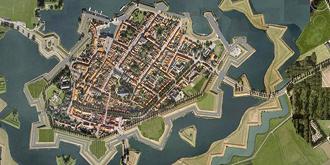 荷兰最美的星型要塞