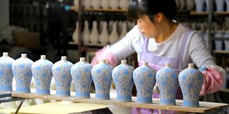 走进神秘的景德镇陶瓷厂