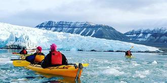 北极荒野探险