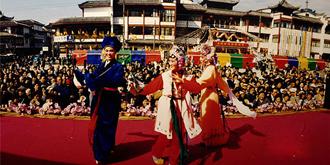20年前的宁波城隍庙庙会