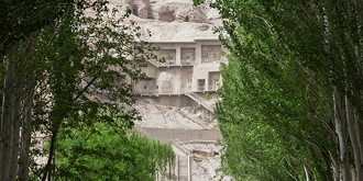 中国最早石窟壁画被大量盗走