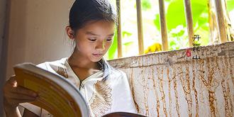 一间只给孩子的乡村图书室