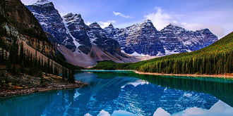 加拿大国宝级湖泊太惊艳