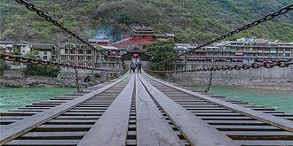 亲身体验泸定桥有多惊险