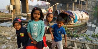 孟加拉贫民窟的真实生活