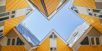 如魔方森林般的鹿特丹方块屋