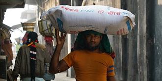 孟加拉传统盐再加工场